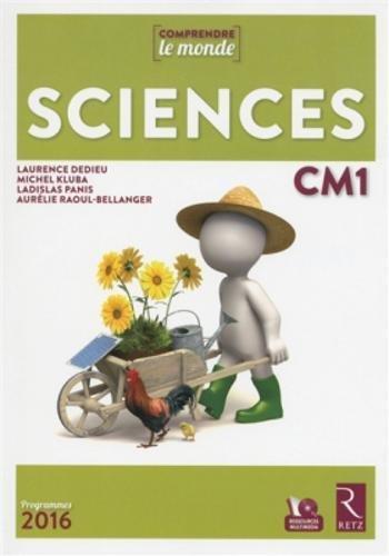 Sciences CM1 Livre + DVD-Rom