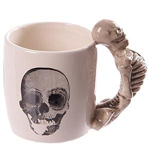 Puckator Calavera Esqueleto Taza con