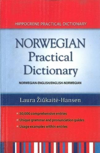 Norwegian Practical Dictionary: Norwegian-English/English-Norwegian por Laura Ziukaite-Hansen