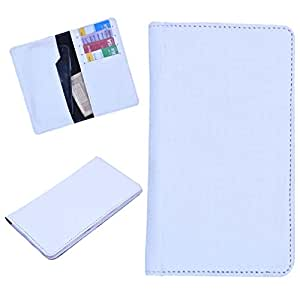 DCR Pu Leather case cover for Samsung S Advance (white)