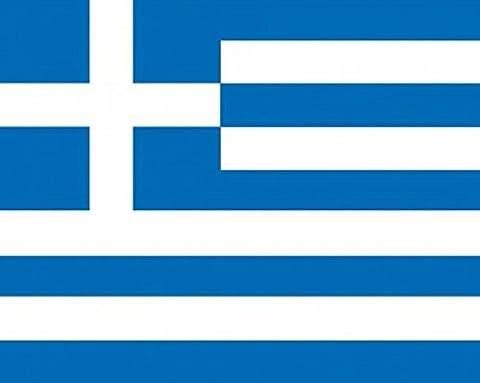 1art1 49821 Griechenland - Flaggen Der Welt Poster Kunstdruck 50