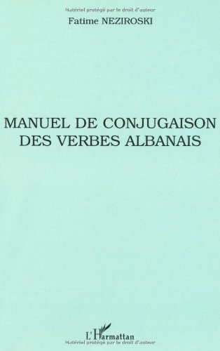 Manuel de conjugaison des verbes albanais