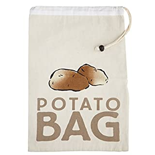 KitchenCraft Stay-Fresh Potato Preserving Storage Bag, 26 x 38 cm (10