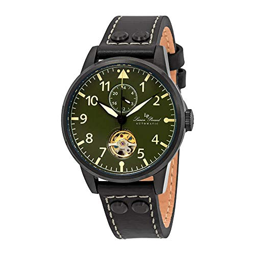 Lucien Piccard Military 24 Automatic Green Dial Men's Watch LP-28005A-BB-08