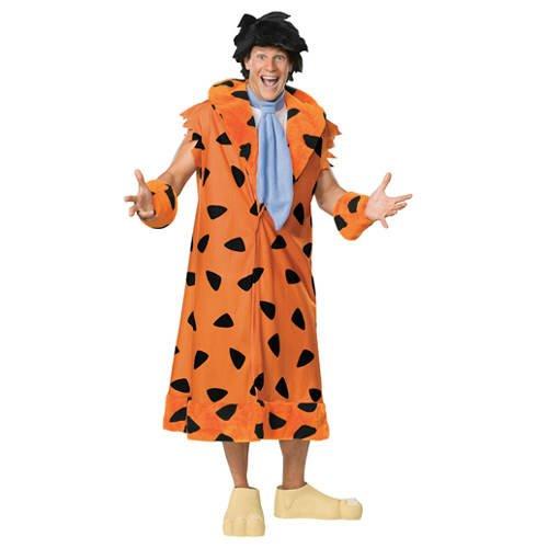 Herren-Kostüm Fred Feuerstein, Gr. - Fred Feuerstein Kostüm Für Erwachsene