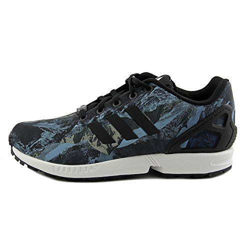 Adidas Zx Flux Synthetik Turnschuhe Black/Black/White