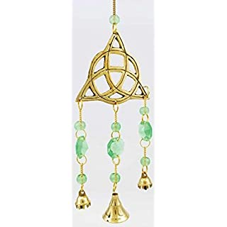 AzureGreen FW024 Triquetra Wind Chime 5 in.