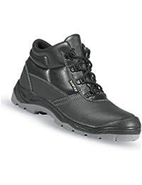 U-Power TORPEDO - Zapato bajo, S3 SRC, color negro/rojo, color negro, talla 39