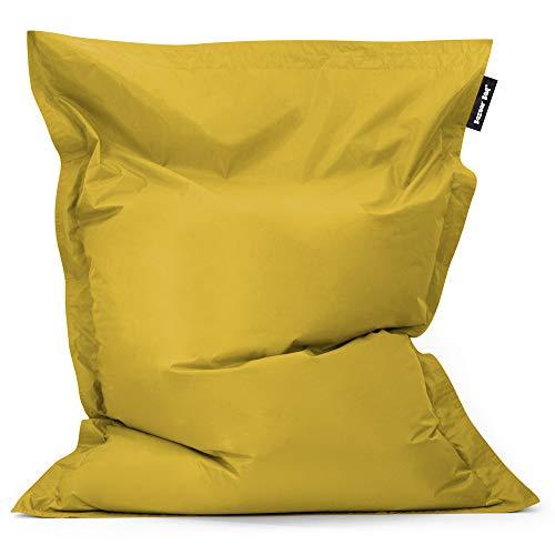 Bean Bag Bazaar Bazaar Bag - Verde Chartreuse, 180cm x 140cm, Puf Gigante para Interiores y Exteriores – Puff Enorme, Ideal para Usar en el Hogar y el Jardín