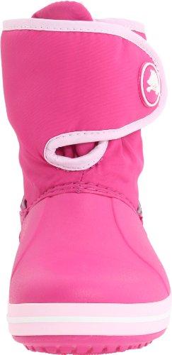 Crocs Crocband Gust Boot Kids, Boots mixte enfant Rose (Fuchsia/Bubblegum)
