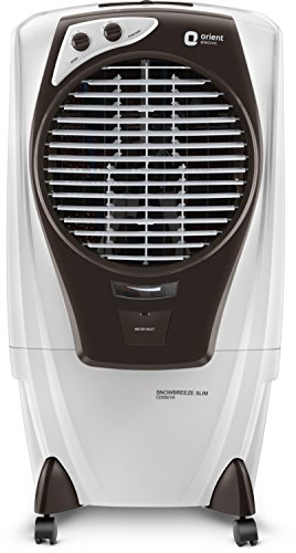 Orient Electric Snowbreeze Slim CD5501H 55 litres Air Cooler (White/Dark Grey)