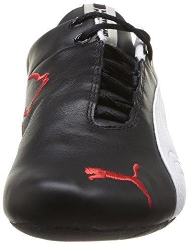 Puma Future Cat Leather Sf -10-, Baskets Basses mixte adulte Noir (Black-White 02)