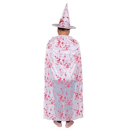 JYJSYM Halloween, Mantel Horror Thema Make-up Kostüme Festival, Polyester, 80cm