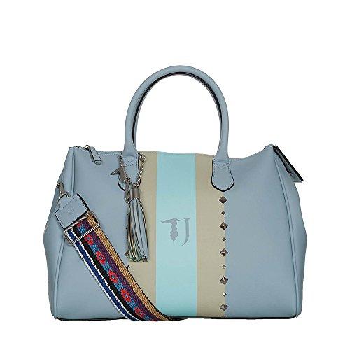 Borsa Donna Bauletto in Ecopelle   Trussardi Jeans Blonde   75B0017399999-Blu/Periwinkle
