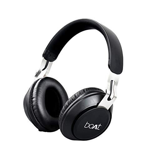 boAt Rockerz 480 Over Ear Wireless Bluetooth Headphone (Matte Black)