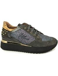 ALVIERO MARTINI 1a Classe 0154 0386 Grigio Sneakers Scarpe Donna Comode 6f6a9ed941a