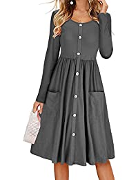 fürAlltag auf Suchergebnis Midi Kleider Damen DH9IYWE2