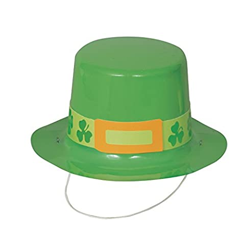 Mini St. Patrick's Day Top Hats, Pack of 4