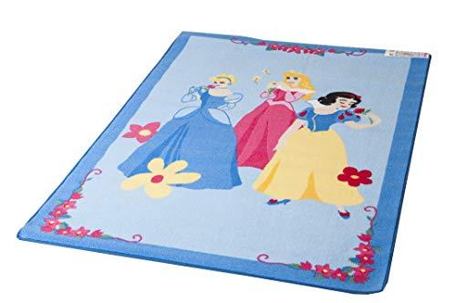 Lancashire Textiles Disney Spielmatte,Educational Alphabet, 95 x 133 cm, VariousDesigns Playmatsverschiedene Designs erhältlich Princess Blue -
