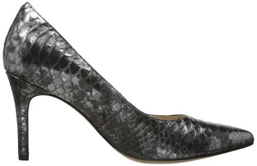 Clarks Dinah Keer - Escarpins femme Gris (Silver Metallic)
