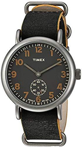 timex - weekender - orologio - nero