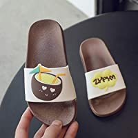 Looekveoyi Boys Girls Slippers Newnest Baby Kids Cute Fruit Cartoon Printed Home Casual Shoes Summer Child Girl Fashion Shoes Slippers