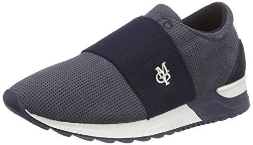 Marc O'Polo 70113893503200 Sneaker, Sneaker Basse Donna Blu (Blu scuro e)