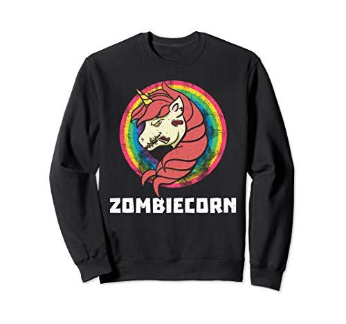 Lustige Kostüm Für Pferde - Halloween Zombie Einhorn Zombiecorn Pferd Lustig Geschenk  Sweatshirt