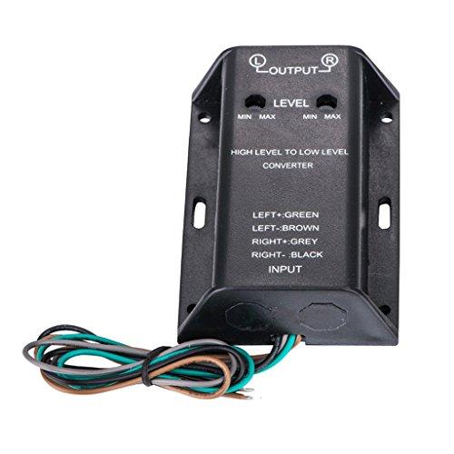 Gazechimp Hochpegel Lautsprechersignal An Low Level RCA Adapter Niederfrequenz-wandler