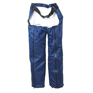 Trueshopping-Pantalon De Travail Sans Siège-Protection Tronçonneuse- Securité- Vêtements adaptés- Ajustable- Chantier-Polyester Oxford- Ceinture- Fermeture-9 Couche de Protection- Taille Unique