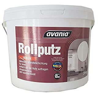 Avania Rollputz (Streichputz) Innen Weiß Matt 20 KG