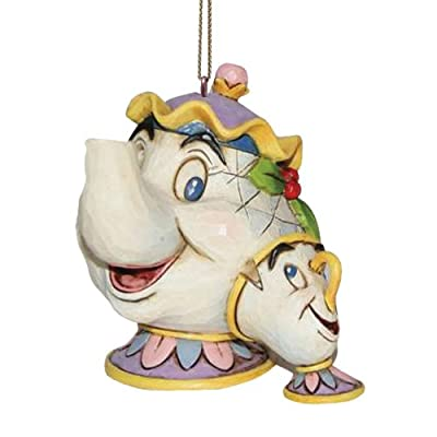 Disney Traditions Beauty and the Beast Mrs Potts/Chip Hanging Ornament