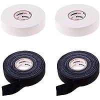 IPOTCH Premium Banda Impermeable Adhesiva de Palo de Hockey a Prueba de Agua Color Opcional Hecho de Material Poli-Algodón