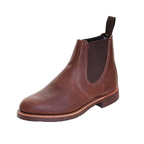 Red Wing Mens Rancher Chelsea 8200 Leather Boots