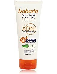 Babaria - Crema solar facial - Anti-envejecimiento SPF50+ - 75 ml