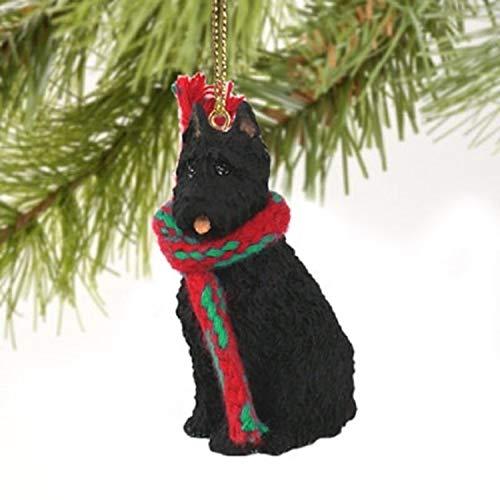 Bouvier des Flandres Miniatur Hund Ornament-zugeschnitten Ohren -