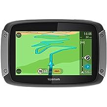 TomTom Rider 400 Premium Pack - Navegador GPS (Flash, Batería, Encendedor de cigarrillos, MicroSD (TransFlash), Europa Central, Europa Oriental, Europa Oriental, 480 x 272 Pixeles)