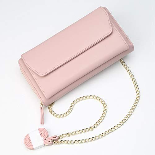 Klassische Flap Clutch (ZIHUINI Paket 2019 Kette Schulter Messenger Bags Clutch Geldbörsen Flap Crossbody Taschen)
