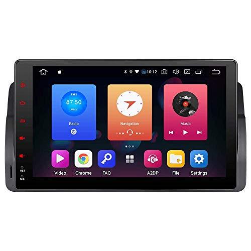 Android 9.0 AUTORADIO DVD GPS Autoradio Navigation unterstützt Bluetooth CANBUS Dual Zone Subwoofer HD DAB Mirrorlink für für BMW E46 M3 325 3er 318 320 Rover75 MG (7