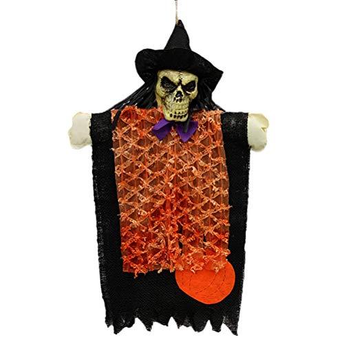 SUPVOX Halloween Schädel Geist hängende Dekoration, Halloween Requisiten Spukhaus Hof beängstigend Dekor Patio Rasen Gartenparty und Urlaub Dekorationen