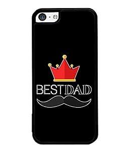 PrintVisa Designer Back Case Cover for Apple iPhone 5c (Love Lovely Attitude Men Man Manly)