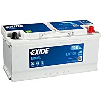 Exide Car Battery EB1100 (W020Se) 12V 110Ah 850Cca - ukpricecomparsion.eu