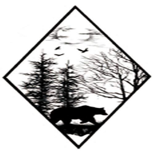 adgkitb 5 stücke Tattoo Aufkleber Wasserdicht Temporäre Gefälschte Tätowierung Geometrische Baum Männer Kinder Kinder Kunst SF3221 10,5X6 cm