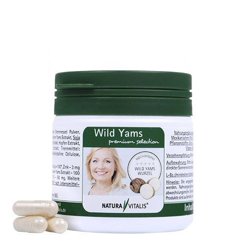 Wild Yams premium selection