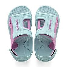 Havaianas Kids' Move Sandals, ICE Blue, 10/11 UK Child