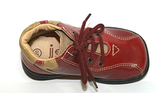 Jela , Coupe fermées fille Rot (rot/beige)