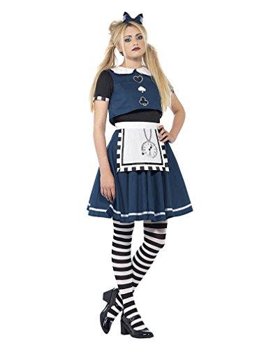 Horror-Shop Dark Alice Damenkostüm -
