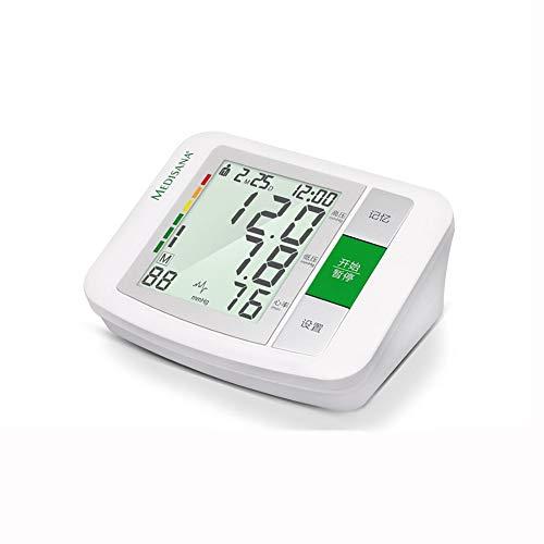 QIDI Esfigmomanómetro Monitor De Presión Arterial Parte Superior del Brazo Bofetada Casa Automático Arritmia Memoria De Mediciones