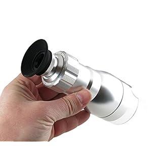 LED Mikroskop 40x mit weißem Dioden-Ring