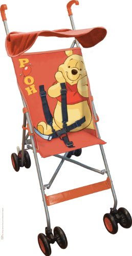 Disney Baby Stroller with Hood Winnie the Pooh